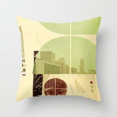 205 (Forensic Love Story) Throw Pillow
