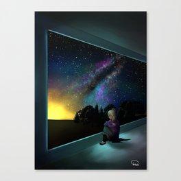 Mystery Artwork Canvas Print