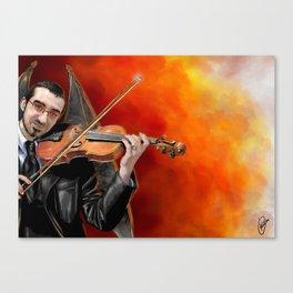 Infernal Violins Canvas Print