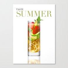 Taste Summer Canvas Print