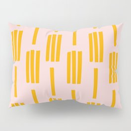 All lined up Pillow Sham