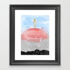Veränderung Framed Art Print