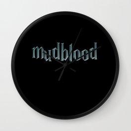 Mudblood - Potter Wall Clock