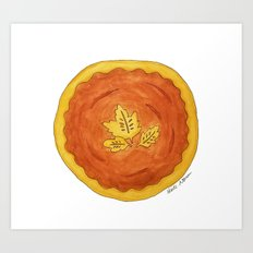 P is for Pie Art Print