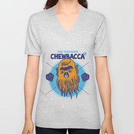 Hipster Chewie Unisex V-Neck