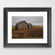 Lindisfarne Offices Framed Art Print