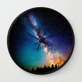 Milky Way Nights Wall Clock