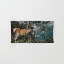 The Mountain Deer - Landscape and Nature Photography Hand & Bath Towel
