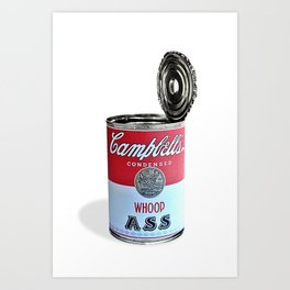 Open a can of... Art Print