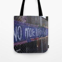 Peace Graffiti Photograph Tote Bag