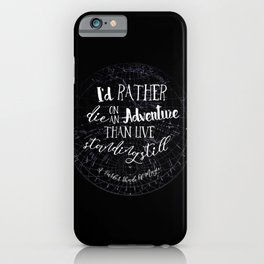 Lila Bard - Die On An Adventure iPhone Case