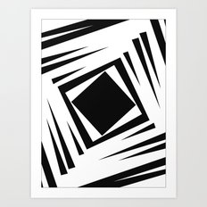 Downward Spiral Art Print
