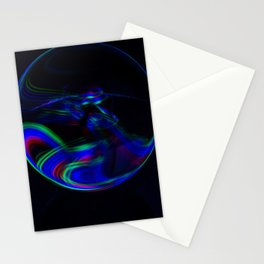 The Light Painter 12 Stationery Cards