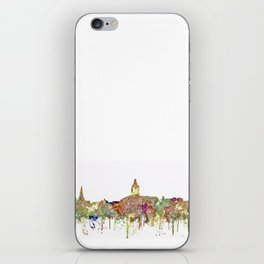 Annapolis, Maryland Skyline  - Faded Glory iPhone Skin
