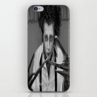 edward scissorhands iPhone & iPod Skins featuring Edward Scissorhands by ururuty