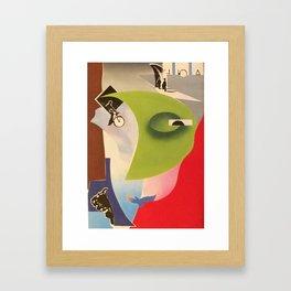 Chasoffart-In the name of life Framed Art Print