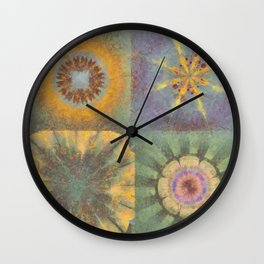 Constellate Incubus Flower  ID:16165-033300-38710 Wall Clock