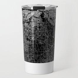 Cleveland map Ohio Travel Mug