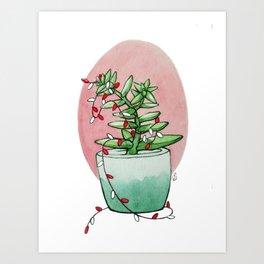 California Christmas 2 Art Print