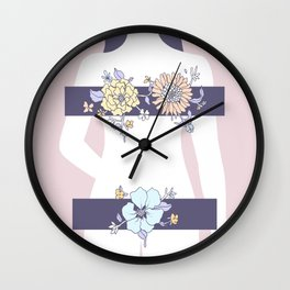 Encumbered Exploration of Existence (Forbidden Territory) Wall Clock