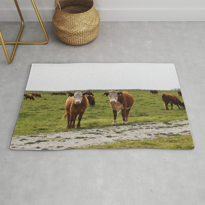 California Cows Rug