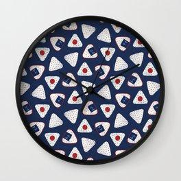 Japanese Rice Ball / Onigiri (おにぎり) Wall Clock