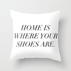 The best things in life are things (sometimes) Throw Pillow