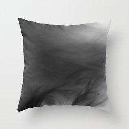 Fire Smoke Throw Pillow