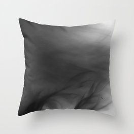 Fire Smoke Throw Pillow