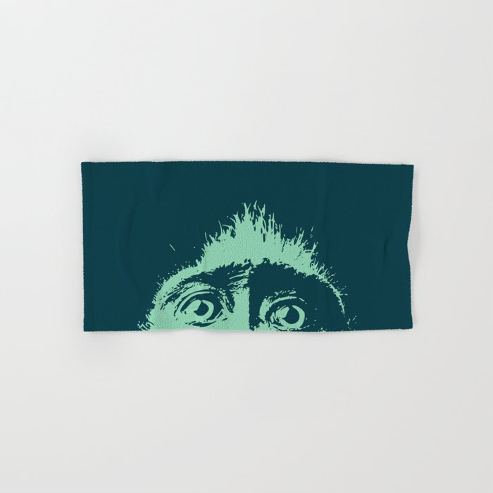 Peeping tom Hand & Bath Towel