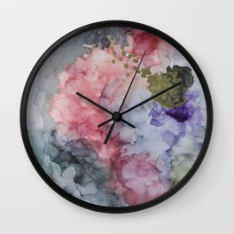 Release of an Anxious Mind Wall Clock