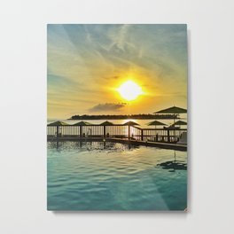 KeyWest Sunset, Florida Metal Print