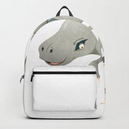 Raucous Velociraptor Backpack