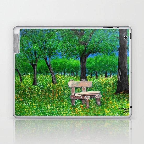 Sit with me  Laptop & iPad Skin