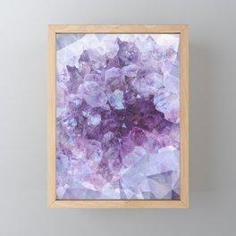 Crystal Gemstone Framed Mini Art Print