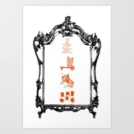 The Philosopher's Stone Design Art Print