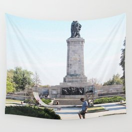 sk8 not war Wall Tapestry