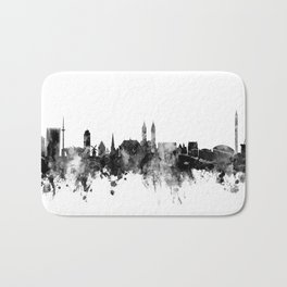 Bremen Germany Skyline Bath Mat