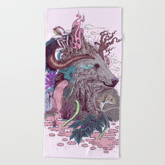 Forest Warden Beach Towel