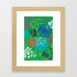 bold breezy Framed Art Print