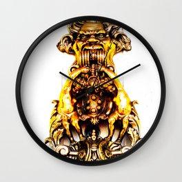 Gargoyle Doorknocker Wall Clock