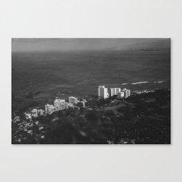 Hawaii- Cityscape Canvas Print