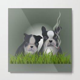 dog world anew Metal Print