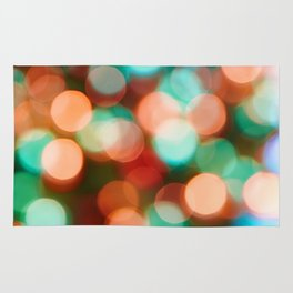 Abstract holiday background Rug