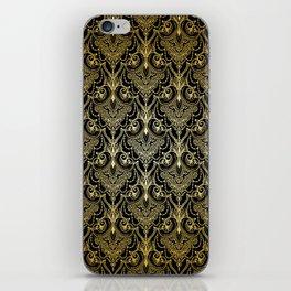 Lace elegant vintage pattern iPhone Skin