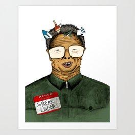 Lil' Kim Art Print