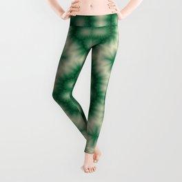 Green kaleidoscope Leggings