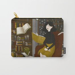 floating books Carry-All Pouch