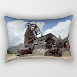 Exploring the Longfellow Mine of the Gold Rush - A Series, No. 2 of 9 Rectangular Pillow
