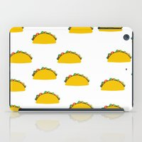 taco iPad Cases featuring Taco  by Beautiful Artworks